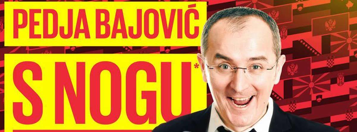 Stand-up comedy: Peđa Bajović