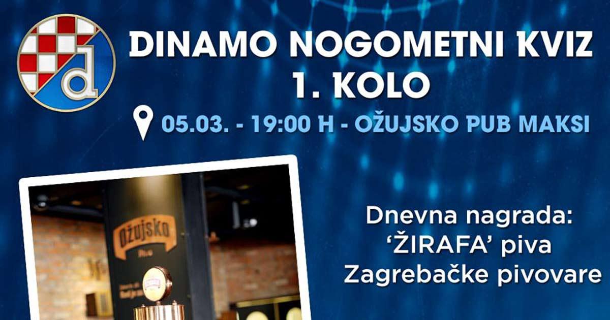 Ožujsko Pub Maksi - Dinamo nogometni kviz