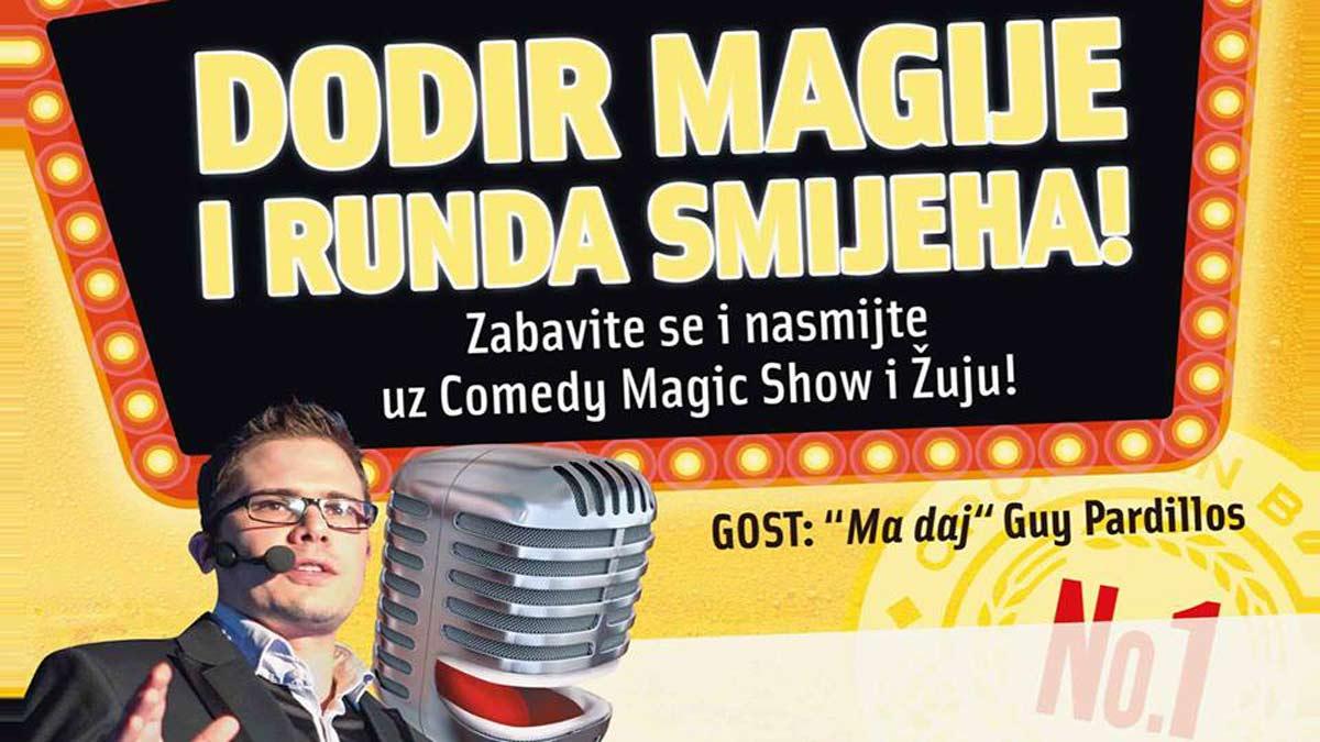 Ozujsko Pub Maksi Comedy Magic Show Luka Vidović! Ožujsko Pub Maksi i Žuja časte s najboljim hrvatskim mađioničarem!