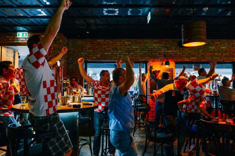 Svejtsko nogometno prvenstvo u Maksi Ožujsko Pubu u Zagrebu