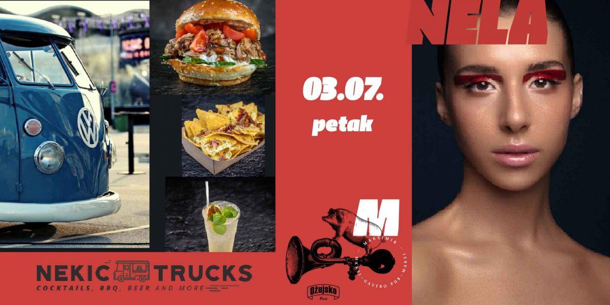 Nekić Trucks & Nela pripremaju Food & Mood petak u Maksi pubu!
