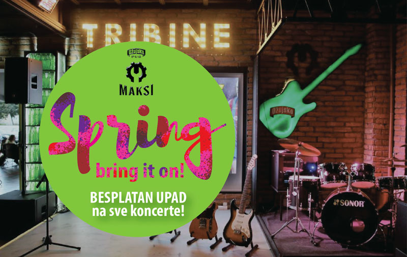 Što ćemo slušati ove sezone? Mlade pjevačke 'snage' na Maksi tribinama! Besplatni koncerti u Maksiju.